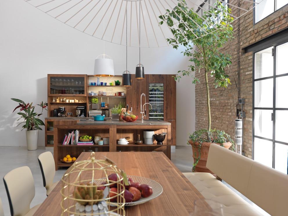 kueche loft 9 moebel naab. Black Bedroom Furniture Sets. Home Design Ideas